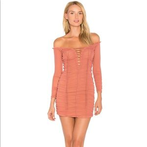 Majorelle Blush Darling Dress